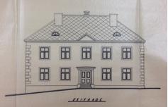 1954. ümberehitusprojekt. Eesti Riigiarhiiv T-2.4-1.385